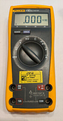 Fluke 77 Iii Digital Multimeter - Free Shipping.