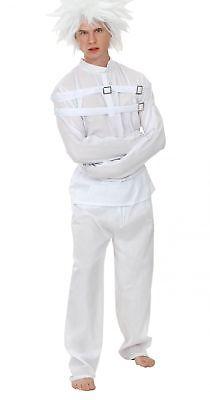 Kostüm Geisteskranker mit Zwangsjacke für Erwachsene Cod.72105