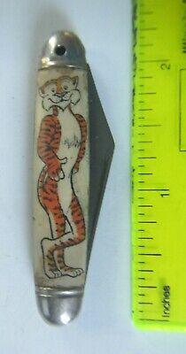 Vintage 'Tony the Tiger' Pocket Knife