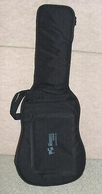 Black LEVY'S  soft Guitar case with shoulder straps & sheet music pocket