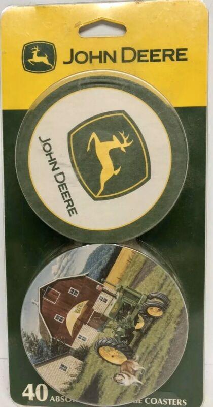 Brand New John Deere 40 Absorbent Beverage Coasters