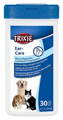 Ear-Care Ohren Pflegetücher 30 St. Hunde Katze Kaninchen Pflege Auge Reinigung