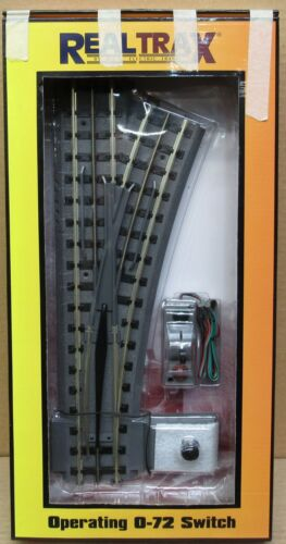 MTH Realtrax 40-1020 O-72 Right-Hand Remote Switch O-Gauge NIB