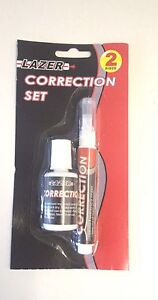 writing correction kit pen fluid bottle office eraser diy. Black Bedroom Furniture Sets. Home Design Ideas