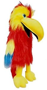 Puppet red parrot 20