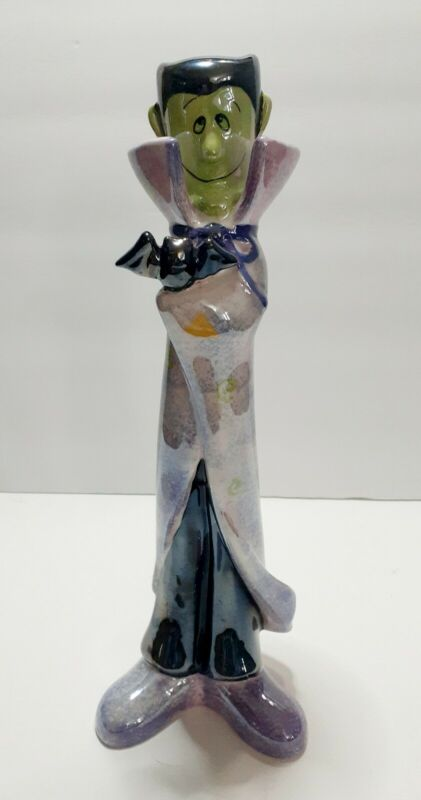 "Ceramic Count Dracula hand painted Figurine 12"" Tall"