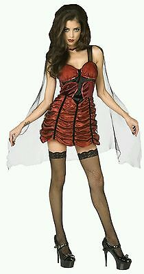 Cross Vampire Sexy Woman Lady Halloween Cosplay Costume Adult 10-12 Medium - Cross Dressing Halloween Costumes