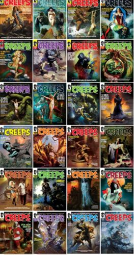 CREEPS MAGAZINE ISSUES #1 - 32 NEW UNREAD COPIES - SHUDDER MAGAZINE YOU PICK