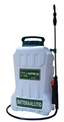 Pump Spraying Machines to Stack IN The Lithium Carpi ELETTRO-16 L Backpack Back
