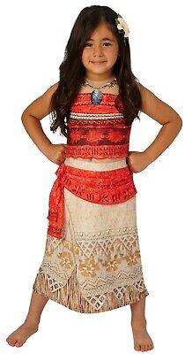 Rubies 3630512 - Vaiana Deluxe Kinder Kostüm, Gr. S M L, Kleid oder - Rubies Kostüm Kinder Perücke