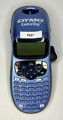 Dymo Letratag Lt-100h Portable Label Maker 1749027 Blue