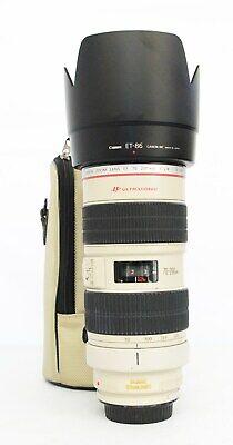 # Canon EF 70-200mm f/2.8 L IS USM Lens S/N 440463