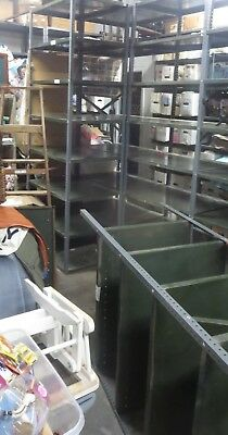 Metal Shelfshelving Adjustable Units For Sale. Industrial Gray Pickup Only