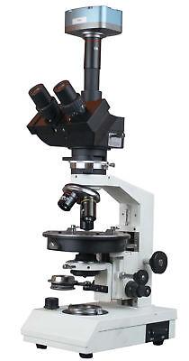 Ore Rock Transmitted Amp Reflected Light Polarizing Microscope