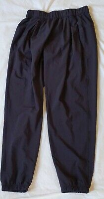 LULULEMON Athletica Polyester Spandex Dark Gray Black Women Size 2 Pull On Pants