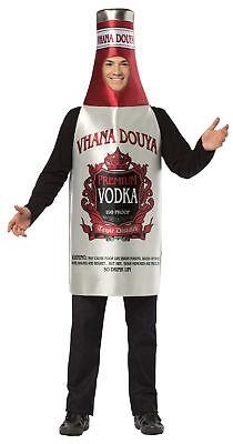 Vodka Adult Costume Alcohol Tunic Halloween Dress Up Rasta Imposta](Alcohol Halloween Costume)