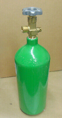 Oxygen Cylinder O2 Tank 20 Cu Ft - Cga 540 Valve - In Hydro