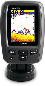 New Garmin Echo 300c Color Fishfinder w/ Dual Beam Transducer 010-00952-00