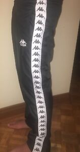 KAPPA TRACK PANTS. Tear away, Large Men's. Brand New Never Worn