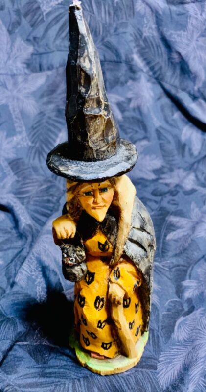Betheny Lowe Anthony Costanza rare retired Halloween witch marked