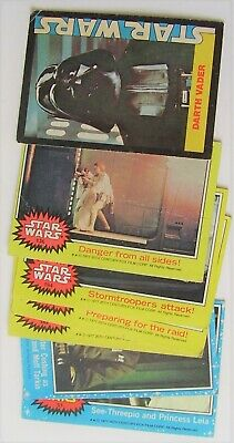 Assorted 1977 Star Wars Card Lot #3