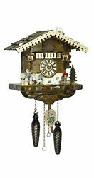 Quartz Cuckoo Clock Heidi with music  TU 4247 QM NEW