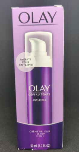 Face Serum by Olay Age Defying Anti-Wrinkle 2-in-1 Day Cream