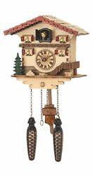 Quartz Cuckoo Clock Swiss house with music TU 473 QM NEW