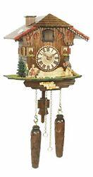 Quartz Cuckoo Clock Swiss house with music TU 464 QM HZZG NEW