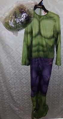Avengers Unglaubliche Hulk Halloween Kostüm Jugend GR. M NEU Nwt Super Hero ()