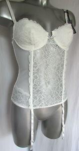 gu piere porte jarretelles 85b 85 b dentelle ivoire chuchotements mariage neuf ebay. Black Bedroom Furniture Sets. Home Design Ideas