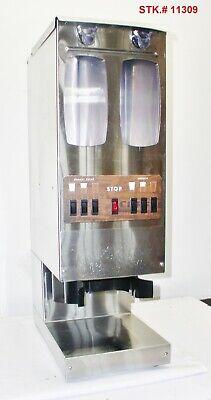 Fetco Gr2.3 Dual Hopper 10 Lb. 6 Batch Coffee Grinder Very Clean