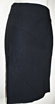 Black Stretch Pencil Skirt for the office, Size M (Junior) ()