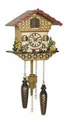 Quartz Cuckoo Clock Swiss house with music TU 4232 QM NEW