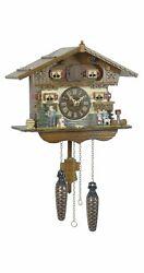 Quartz Cuckoo Clock Swiss house with music TU 440 QM NEW