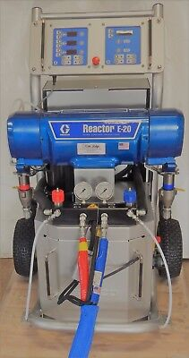 Used 2017 Graco E-20 Reactor Package