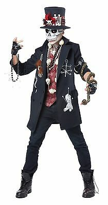 Voodoo Dude Black Magic Adult Costume (Men's Voodoo Costume)