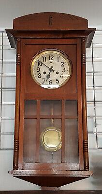 99820061 Regulator / Wall Clock Start / Middle 20. Century