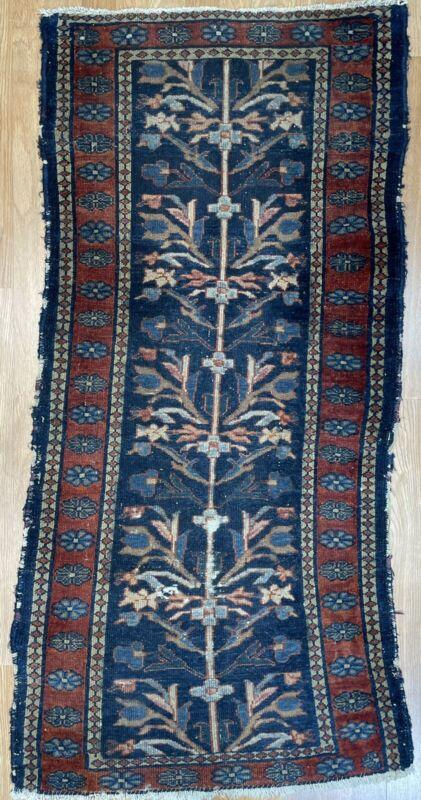 Tremendous Tribal - Antique Oriental Rug - Nomadic Carpet - 2.3 X 4.9 Ft.