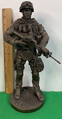 US Armed Forces Soldier Army Marines Statue Figurine