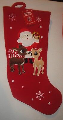 Rudolph the Red Nosed Reindeer Christmas Stocking  18