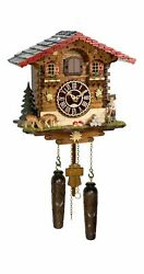Quartz Cuckoo Clock Swiss house with music TU 4279 QM HZZG NEW