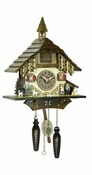 Quartz Cuckoo Clock Heidi with music  TU 4248 QM NEW