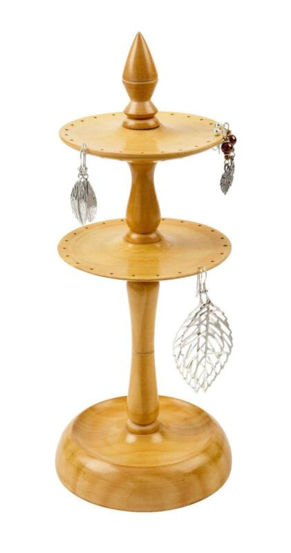 Trade Jewellery Stands : Wooden earring holder jewellery display ebay