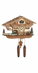 Quartz Cuckoo Clock Swiss house with music TU 481 QM HZZG NEW