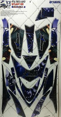 AMR Racing Graphic Sticker Wrap Kit Sale For Yamaha Raptor 700 2013+ MAD HATTER ](Mad Hatter For Sale)