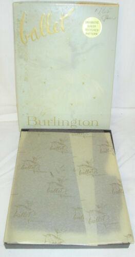 3 Pr  Ballet Burlington  Vintage Nylon Stockings Black Pearl   11M  Checkerboard