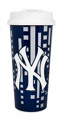 MLB 16oz Team Color Insulated Travel Tumbler Coffee (16 Ounce Team Color)