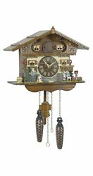 Quartz Cuckoo Clock Swiss house TU 440 Q NEW