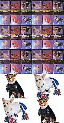 PET DOG COSTUMES CHEERLEADER/ BATMAN/PUMPKIN/PRINCESS/DEVIL/GHOST PIRATE & MOR